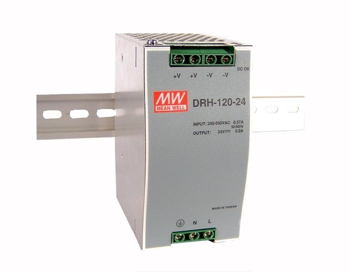 2 phase DIN rail power supply