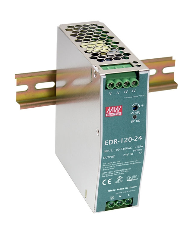 Economical DIN rail power supplies