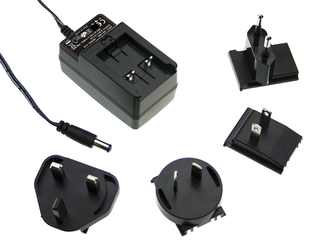 MEAN WELL plug pack power adapter