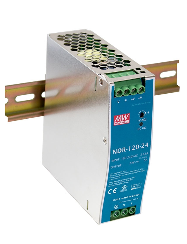 Standard DIN rail power supply