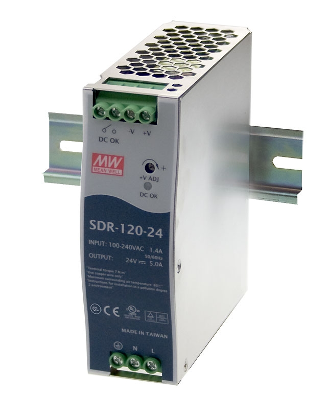 High specification DIN rail power supply