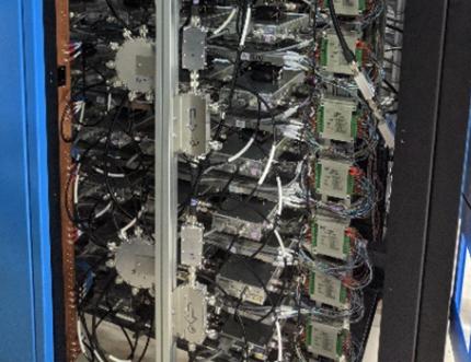 RF amplifier clusters