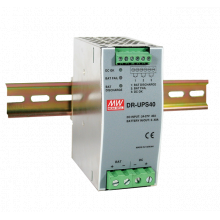 DIN rail UPS and redundancy modules