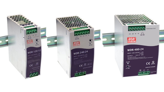 DIN Rail Power Supplies for Regions with AC Power Fluctuations