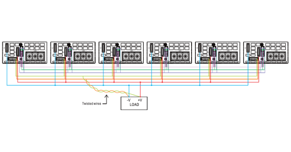 MEAN WELL POWER SUPPLIES WITH CURRENT SHARING FUNCTION